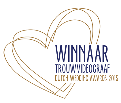 Logo Winnaar Dutch Wedding Awards Beste Trouwvideograaf 2015