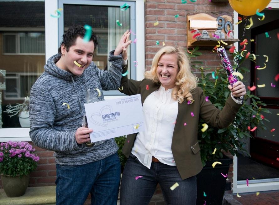 Genomineerd voor de Dutch Wedding Awards 2015!