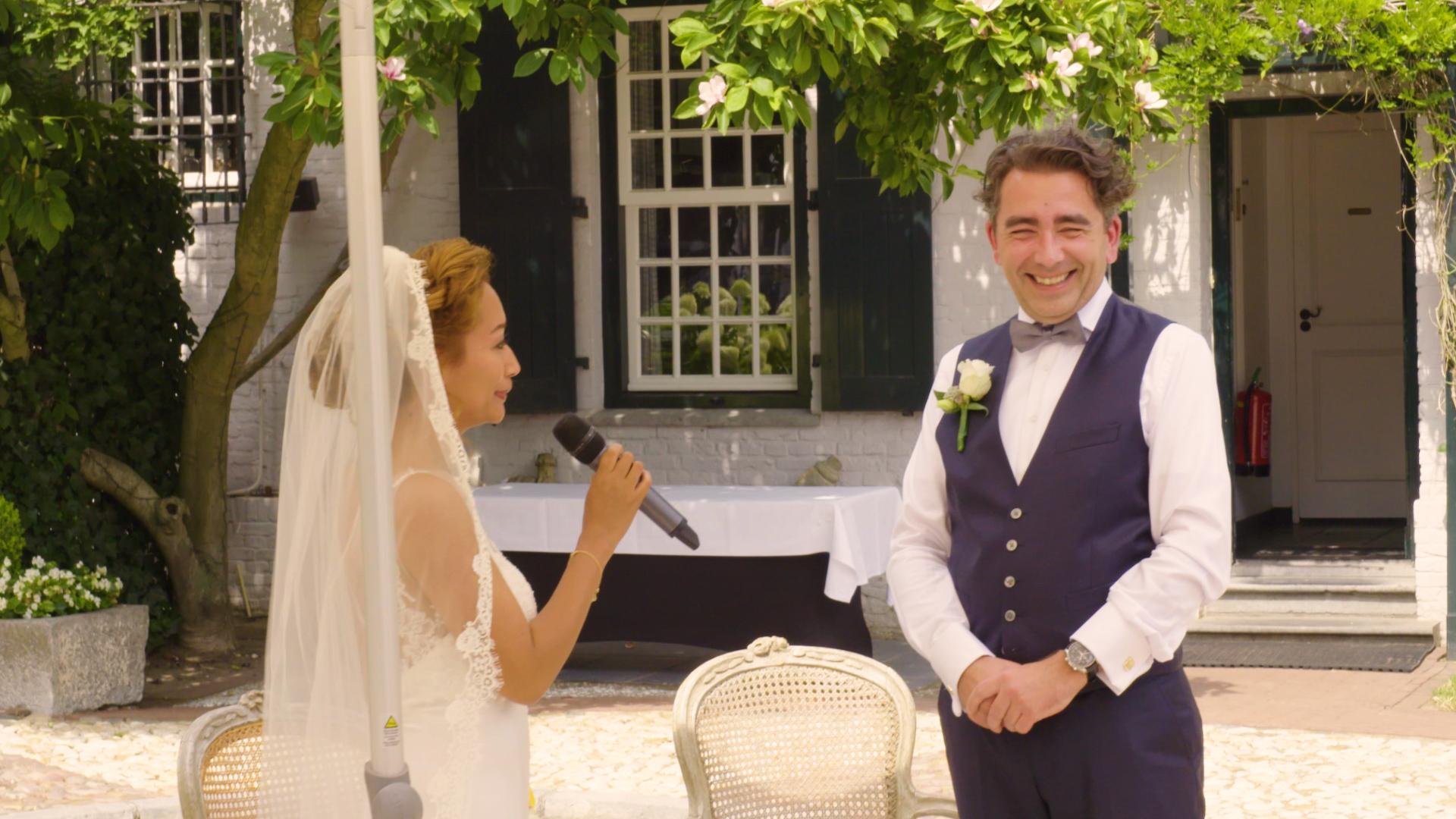 Schrijf een huwelijk speech
